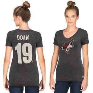 Shane Doan Arizona Coyotes Name & Number Tri-Blend V-Neck