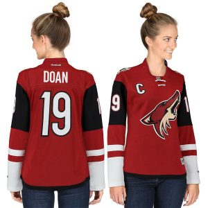 Shane Doan Arizona Coyotes Women's Garnet Premier Player Home Jersey