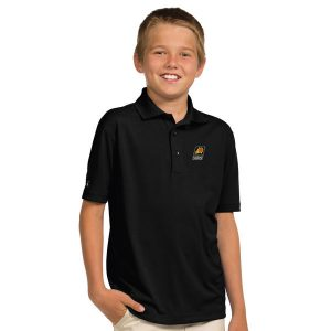 Suns Youth Black Pique Desert Dry X-tra Lite Polo