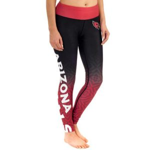 Women's Arizona Cardinals Klew Cardinal Gradient Leggings
