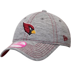 Women's Arizona Cardinals New Era Gray Team Mist 9TWENTY Adjustable Hat