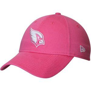 Women's Arizona Cardinals New Era Pink Preferred Pick 9TWENTY Adjustable Hat